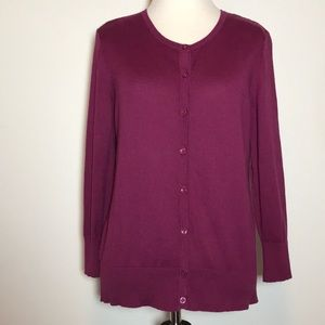 Ann Taylor 3/4 Sleeved Cardigan, Size M, Like New